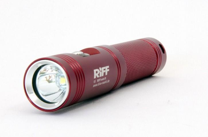 """Riff Tauchlampe Mini """"rot"""""""
