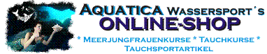 Aquatica´s Tauch-Sport-Shop